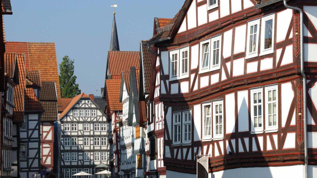 Brückenstraße in Melsungen