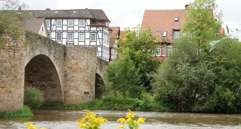 Bartenwetzer-Brücke Melsungen
