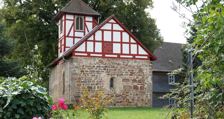 Kapelle in der Nähe zur Fulda