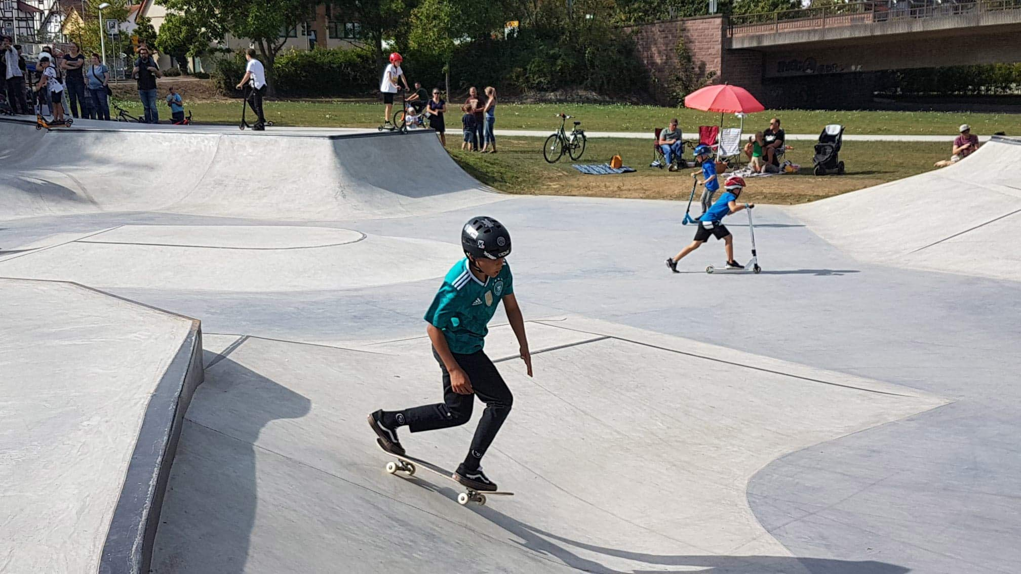 Skateanlage in Melsungen eröffnet